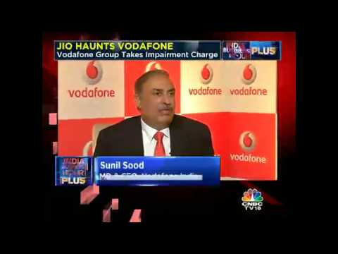 JIO HAUNTS VODAFONE. Vodafone Group Takes Impairment Charge