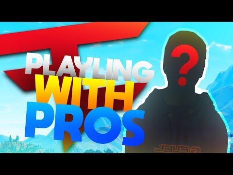 FaZe Pro Player Duo! Nuttiest Player I've Seen! - Fortnite Battle Royale
