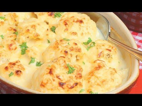Как приготовить цветную капусту в духовке со сметаной и сыром
