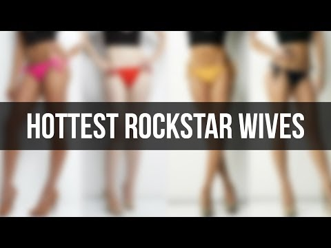 Hottest Rockstar Wives