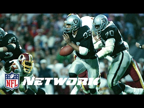 Legends of the Super Bowl: Marcus Allen Destroys the Redskins in Super Bowl XVIII | NFL Now