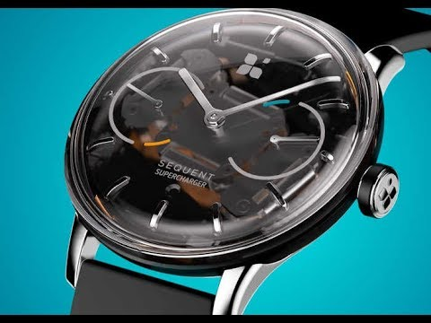 Sequent Kinetic Self-Charging Smartwatch || Sequent || Smartwatch