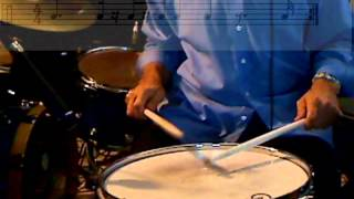 Free Drum Lesson Video: Paradiddles with a twist: Concepts on varying accents within paraddidles