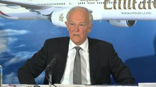 Sir Tim Clark media conference on
