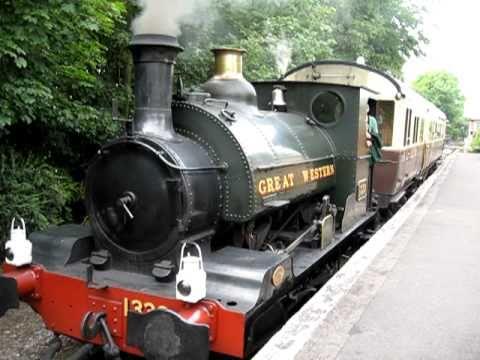 Great Western Railway Saddle Tank Locomotive at Didcot Railway Centre