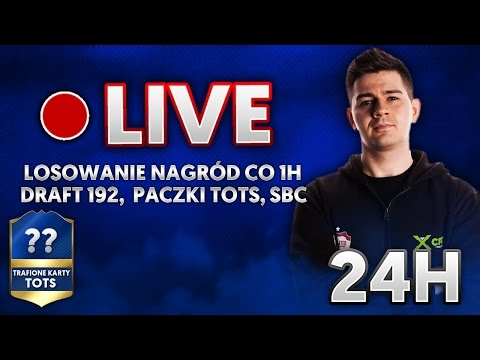 DRAFT 193! TOTS PACK OPENING | 5 X WALKOUT | NAGRODY CO GODZINĘ | LIVE 24H | Diablochairs.com