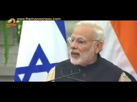 PM Modi Speech At Joint Press Statement With Israel President Reuven Rivlin | Mango News