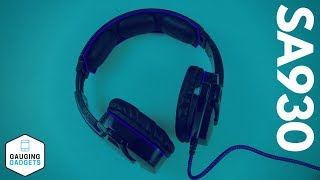 Sades SA930 Gaming Headset Review - Gaming Headphones with Microphone