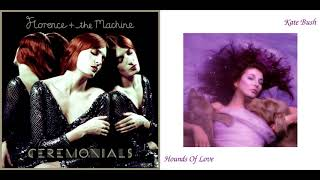 florence + the machine/kate bush - seven devils/waking the witch (mashup)