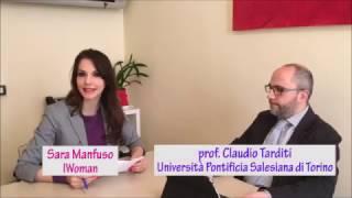 Sara Manfuso intervista il Prof. Claudio Tarditi sul rapporto tra l'alimentazione e i new media