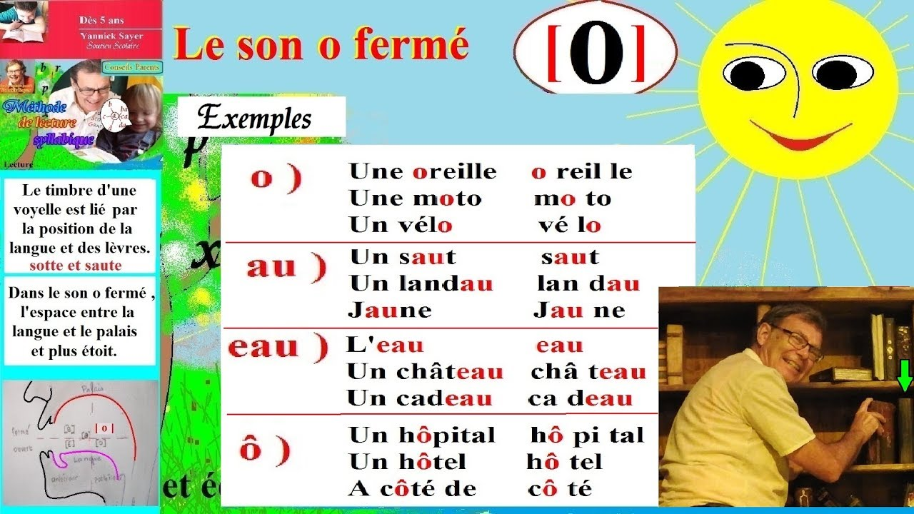 Bien-aimé Le son o fermé : Lecture Maternelle CP CE1 en Français (114) - YouTube EA23