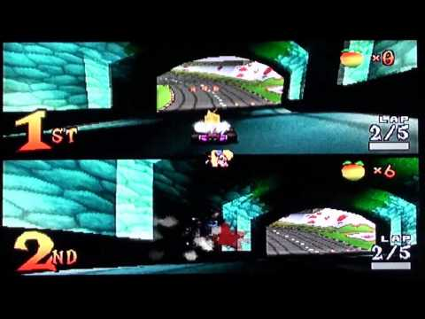 Crash Team Racing Multiplayer Race at Coco Park