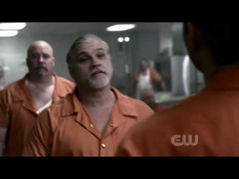 Supernatural Dean having fight in prison