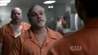 Supernatural Dean having fight in prison