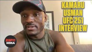 Kamaru Usman on Jorge Masvidal and the journey to Fight Island for UFC 251 | ESPN MMA
