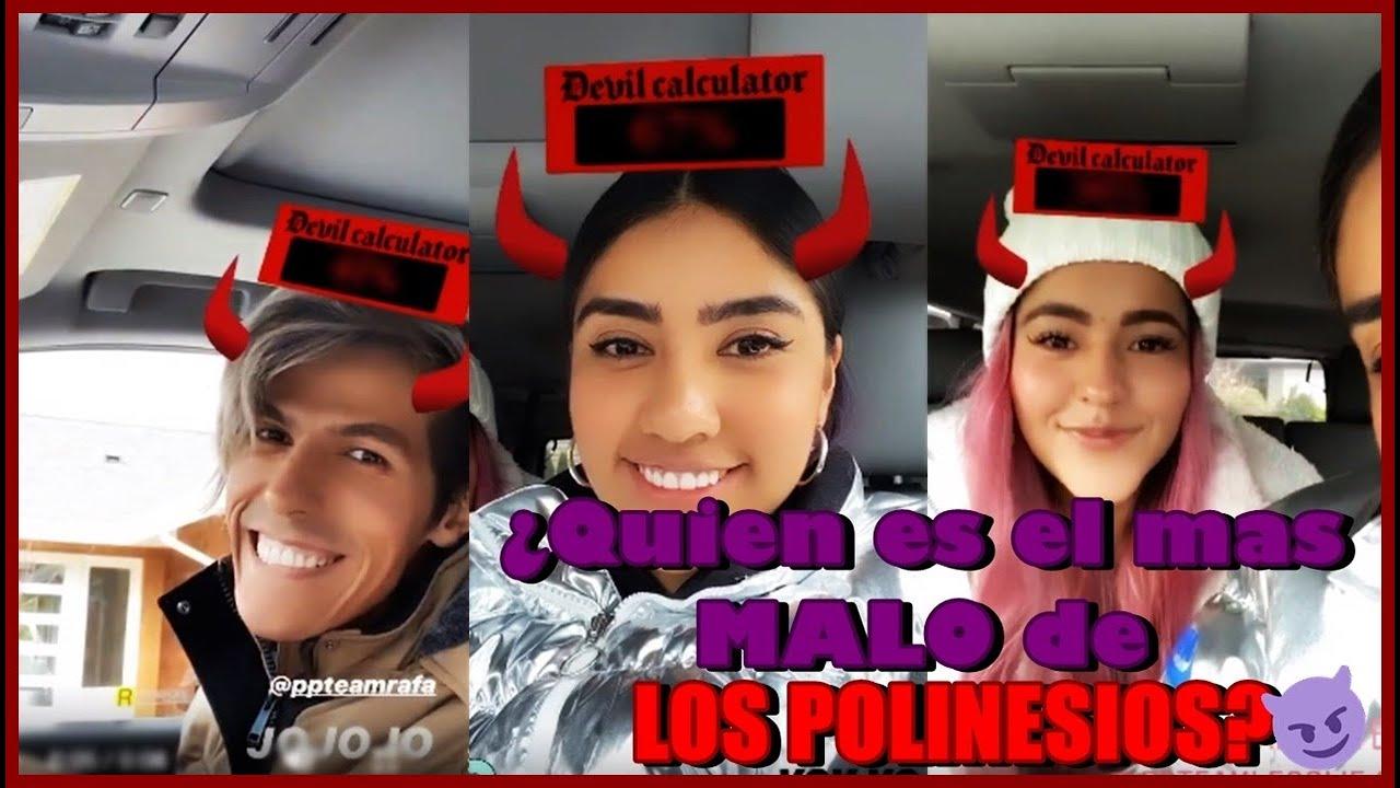 ¿QUIEN ES EL MAS MALVADO DE LOS TRES? | LOS POLINESIOS FANS