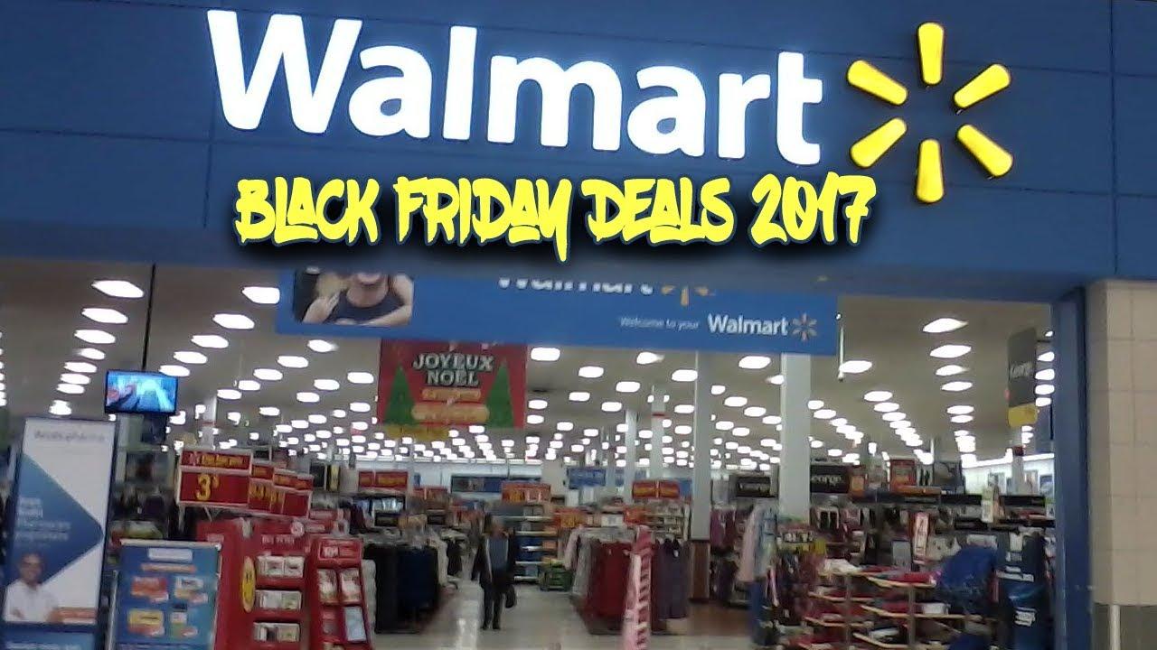 Walmart Black Friday Deals 2017 Ad Scan Youtube