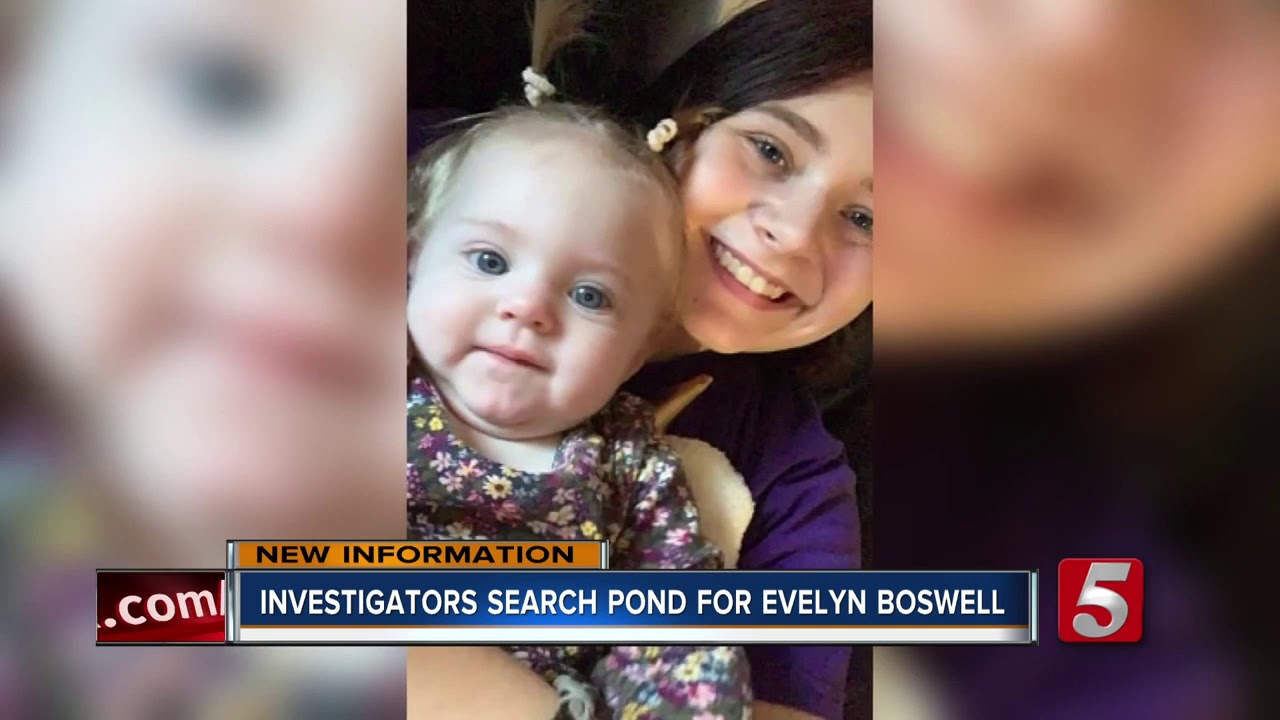 Evelyn Boswell Case Authorities Searching Pond In Wilkes County