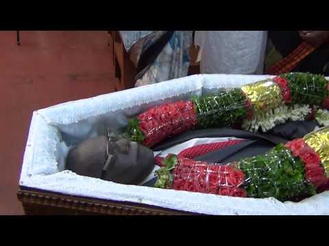 1  Pr V R Sugumaran Funeral Opening Song in SDA CTC Bangalore