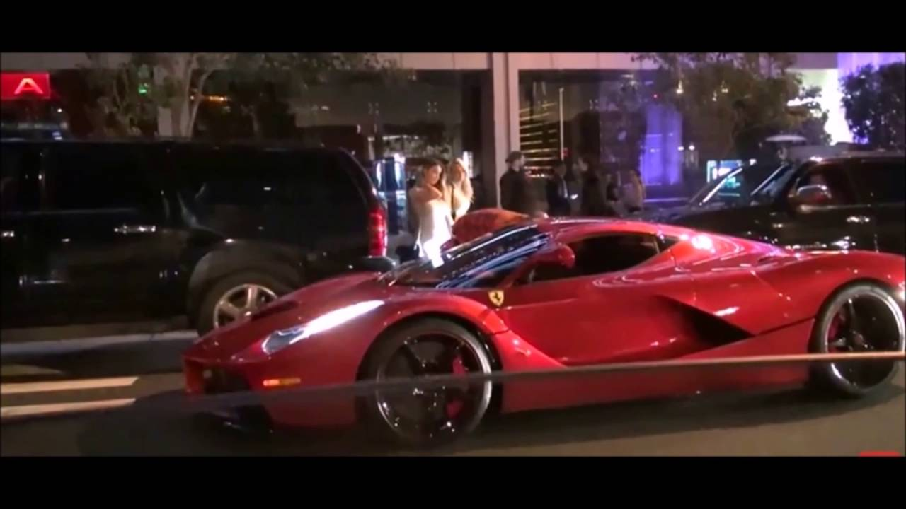 Lewis Hamilton's car collection - YouTube
