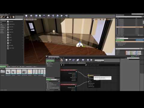 Unreal Engine 4 Tutorial - Sliding Door Using Class Blueprint