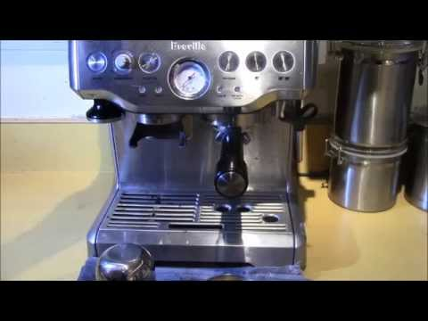Breville BES870XL Barista Express Espresso Machine - Demo/Review from YouTube · Duration:  4 minutes 53 seconds
