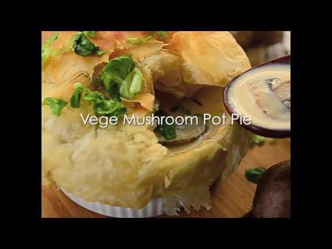Vege Mushroom Pot Pie