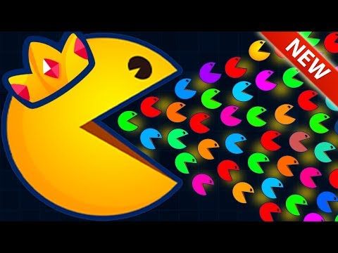 NEW .iO GAME! MULTIPLAYER PACMAN WORLD RECORD SCORE / PACMAN.IO HOW TO PLAY (Pacman.io Gameplay)