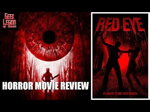 RED EYE ( 2018 Heather Dorff ) Slasher Horror Movie Review