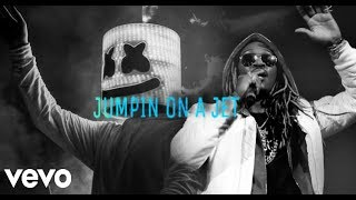 (Free) Future X Marshmello Type Beat - Jumpin On A Jet Ft. 6lack | Trap Instrumental 2019 Video