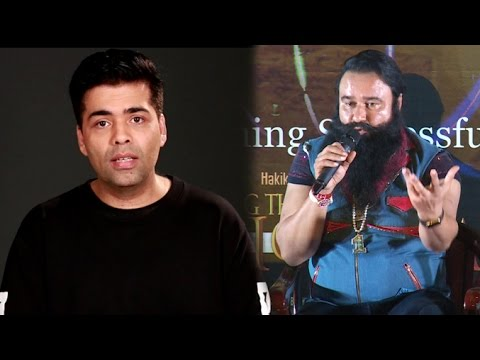 MSG's Best REPLY To Karan Johar's Apology For Using Pakistani Actors