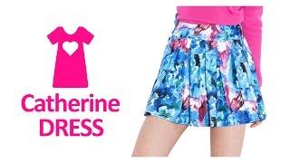 Обзор юбки Othermix с акварельным принтом с Aliexpress
