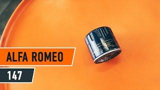 Video navodila za svoj ALFA ROMEO 156