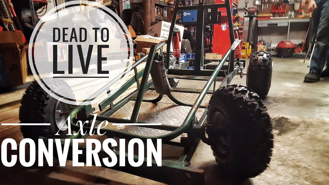 Dead to Live Axle Conversion FSTGK Pt 4
