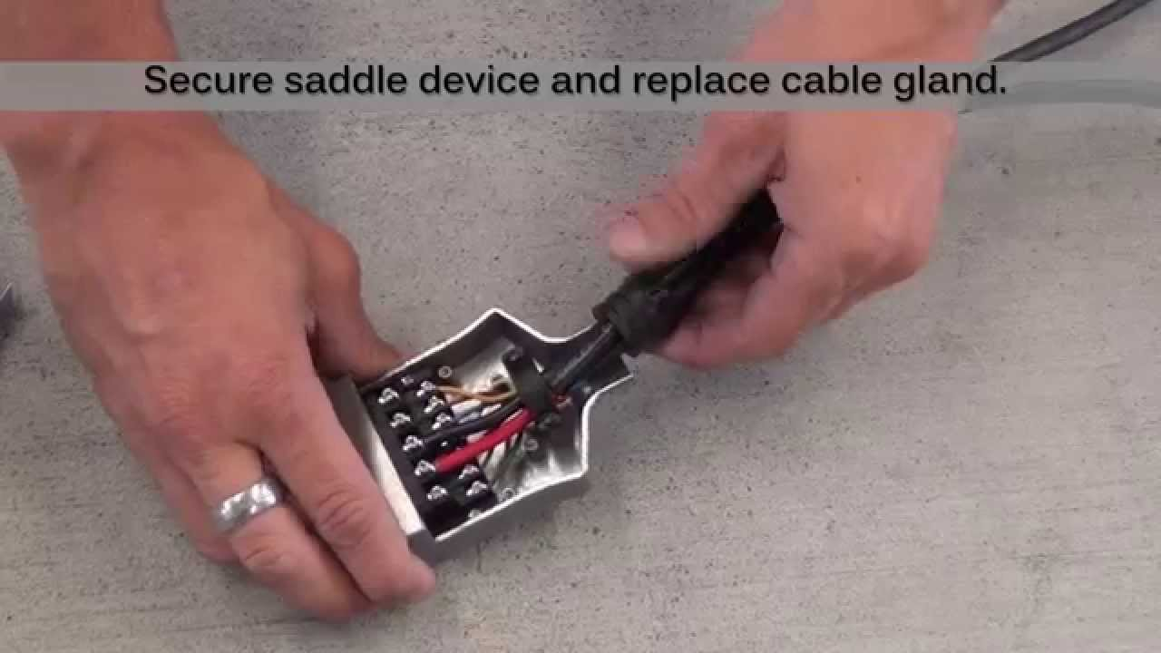 How To Install A Kt 12 Pin Flat Trailer Plug Socket Youtube 7 Rv Wiring Harness