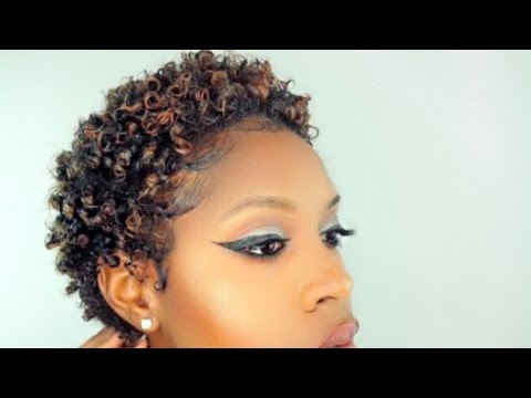 DEFINED CURLS For Your SHORT TWA | NATURAL HAIR