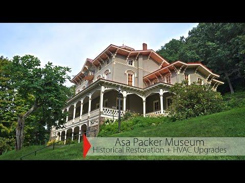 Asa Packer Museum Historical Porch Restoration + HVAC Improvments