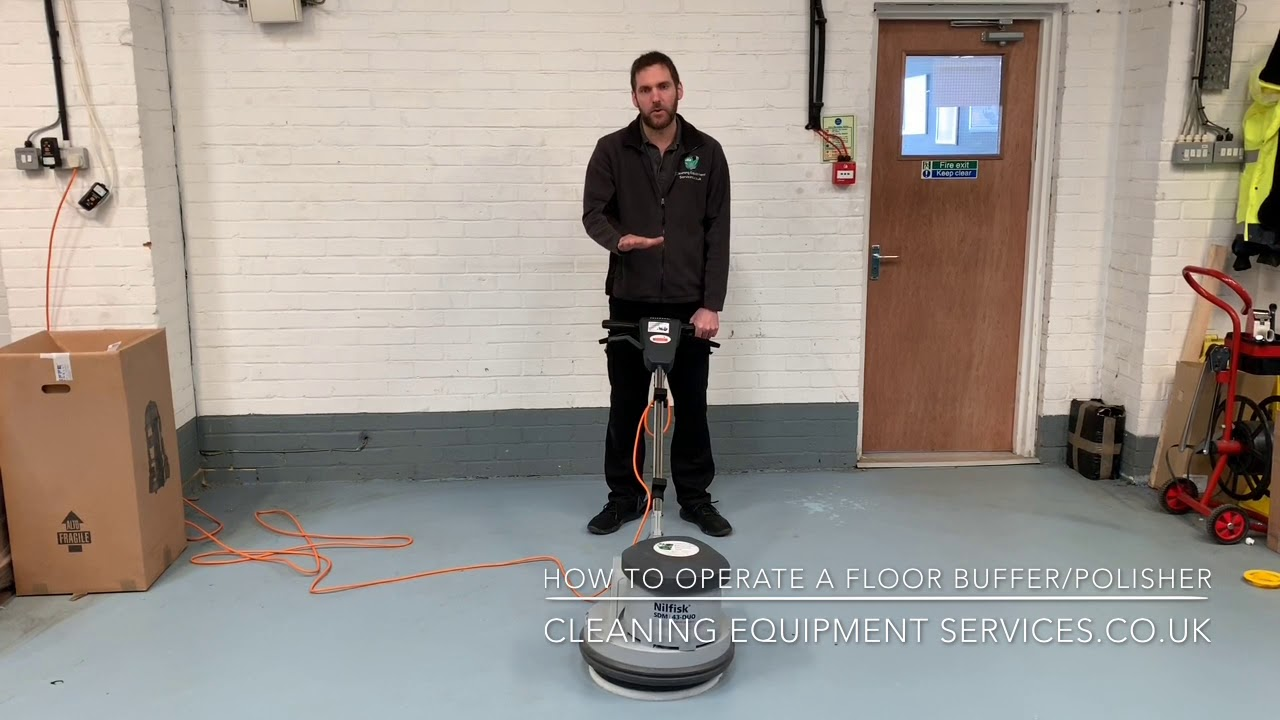 How To Operate And Use A Floor Polisher
