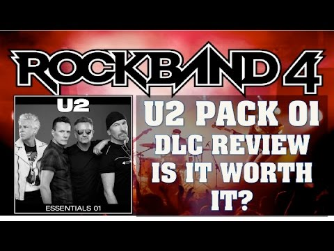 "Rock Band 4   U2 The ""Essentials"" Pack 01 Full Band DLC Review   Worth The Money?"
