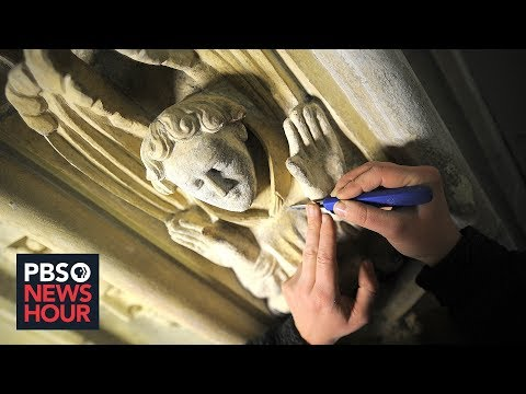 British artisans preach patience for France's Notre Dame restoration