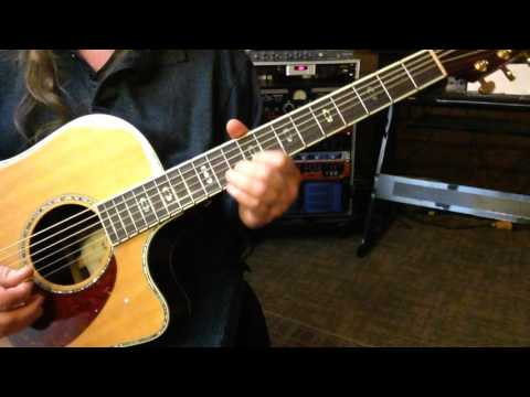 Reflections - Open A m7b5 Tuning - Key of G Natural Minor