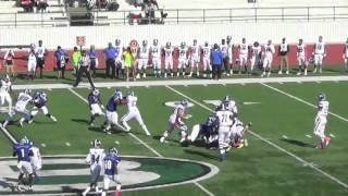 blinn college football austin williams sophmore 17 highlights