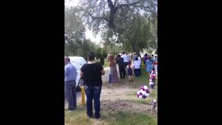 Another view of Tio Lolo's funeral