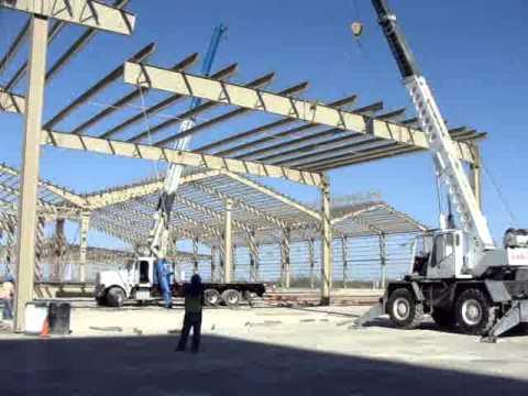 Montaje estructura metalica ternium vp youtube - Estructura metalicas para casas ...