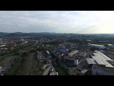 Reutlingen rund um den ehemaligen Güterbahnhof