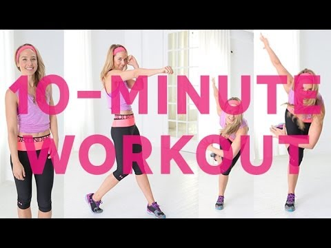 10-Minute Full-Body Workout with Under Armour