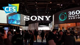 Sony and their new Master Series TVs at CES 2020