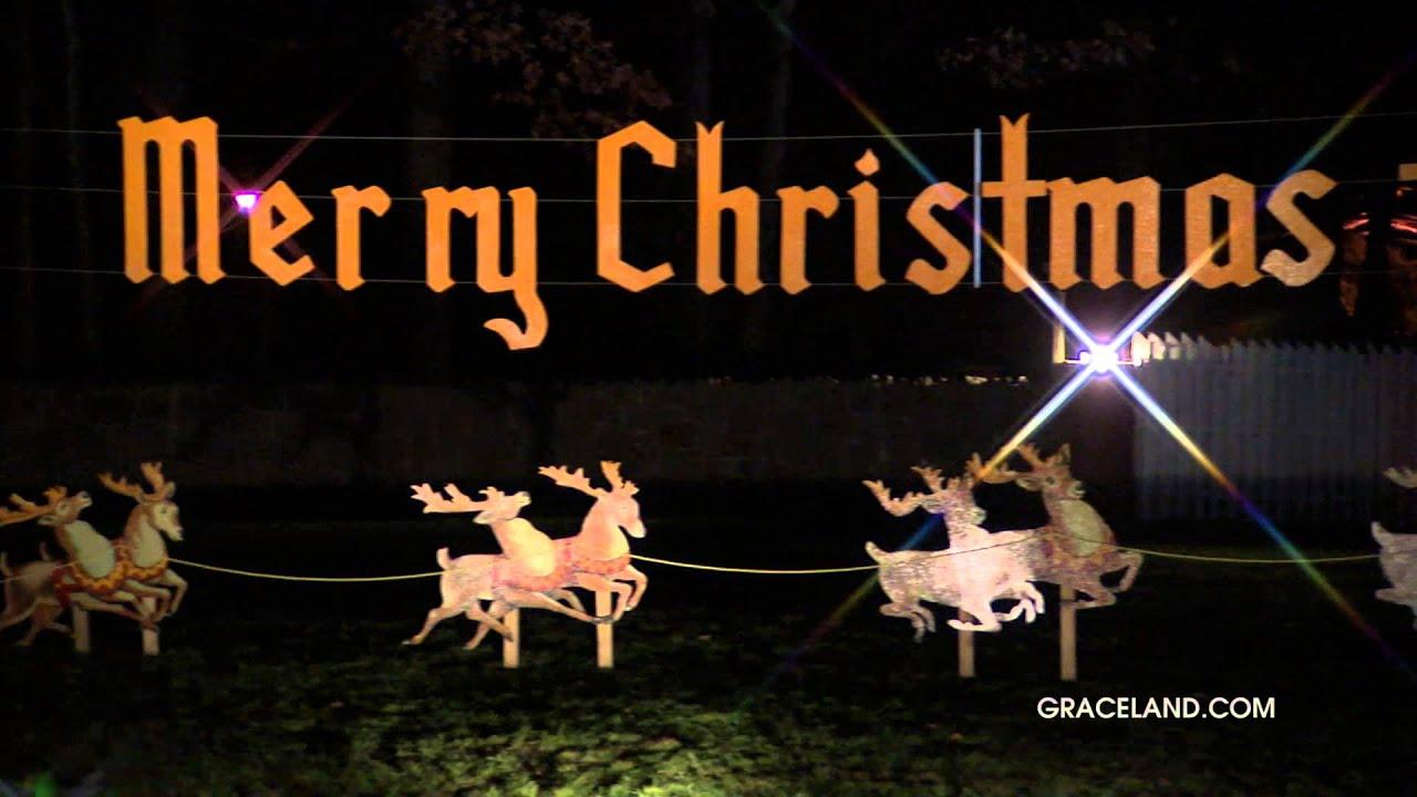 Gates of Graceland - Elvis and Graceland at Christmas - YouTube