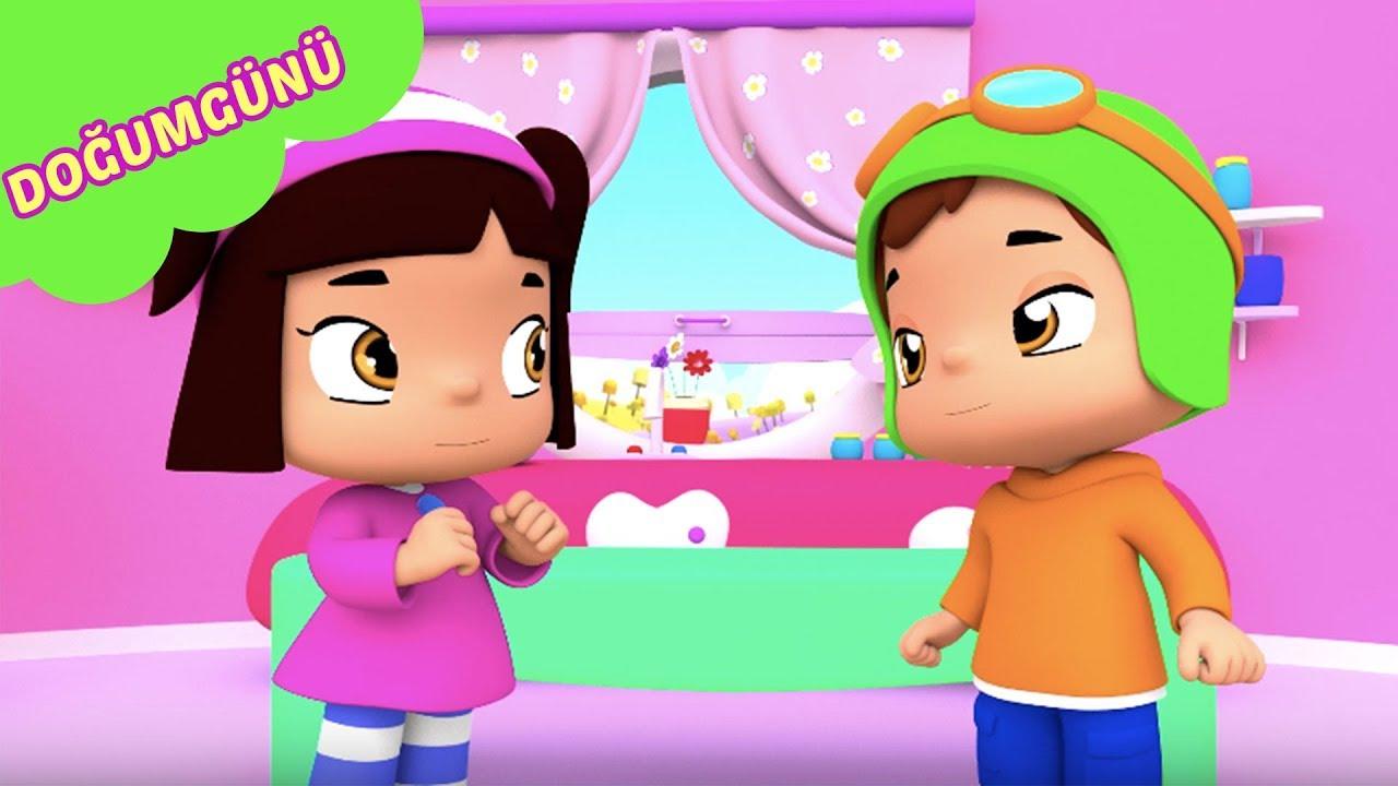 Pepee - Leliko Doğum Günü Kutluyorlar YENİ Bölüm - Eğitici Çizgi Film & Çocuk Şarkıları
