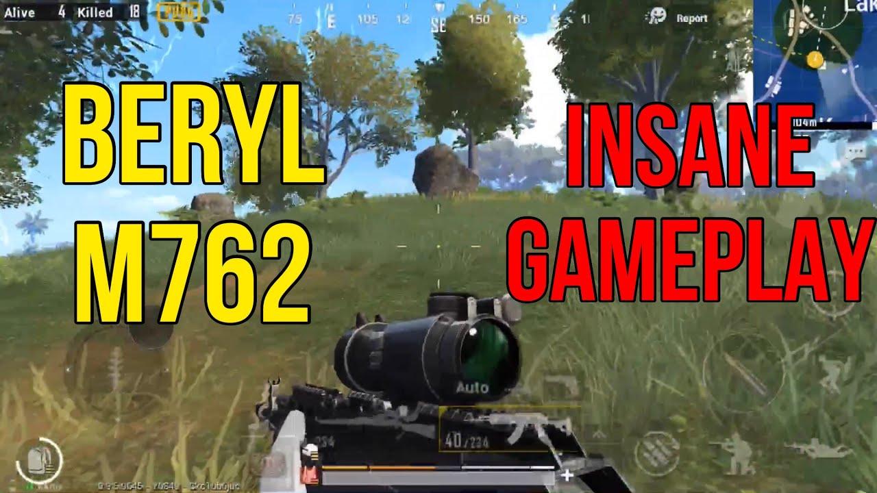 M762 Pubg: BEST GUN IN GAME!! BERYL(M762) GAMEPLAY!! PUBG Mobile